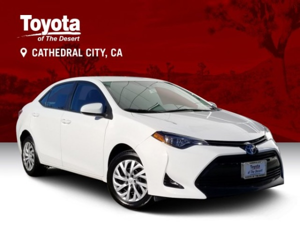 2018 Toyota Corolla in Cathedral City, CA
