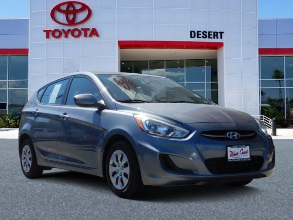 2017 Hyundai Accent in Cathedral City, CA