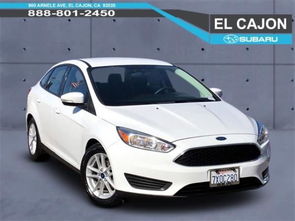 2017 Ford Focus in El Cajon, CA