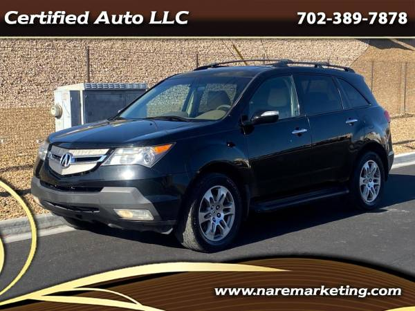 2007 Acura MDX with Entertainment/Technology Package