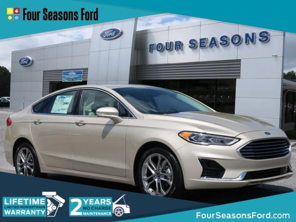 2019 Ford Fusion in Hendersonville, NC