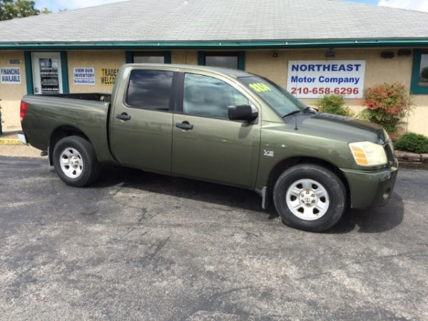 2004 Nissan Titan Xe Crew Cab 2wd For Sale In Universal City Tx