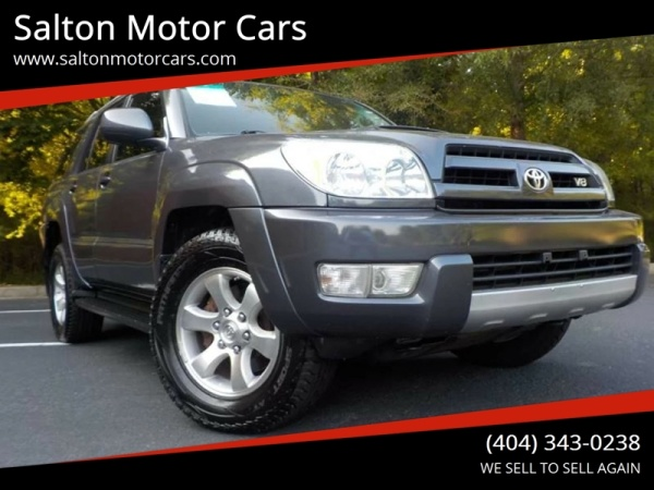 2005 Toyota 4runner Sr5 Sport V8 Rwd Automatic For Sale In