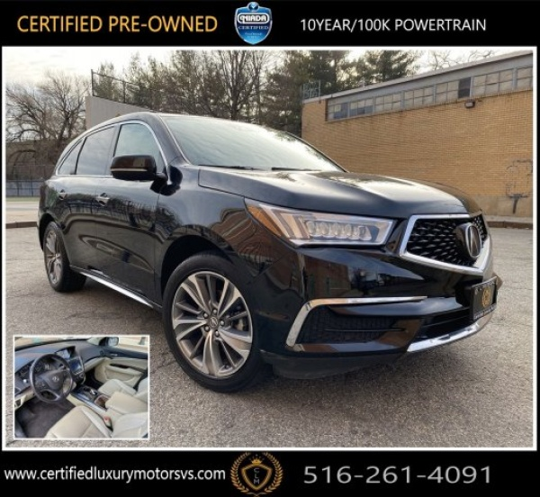 2017 Acura MDX SH-AWD With Technology Package For Sale In