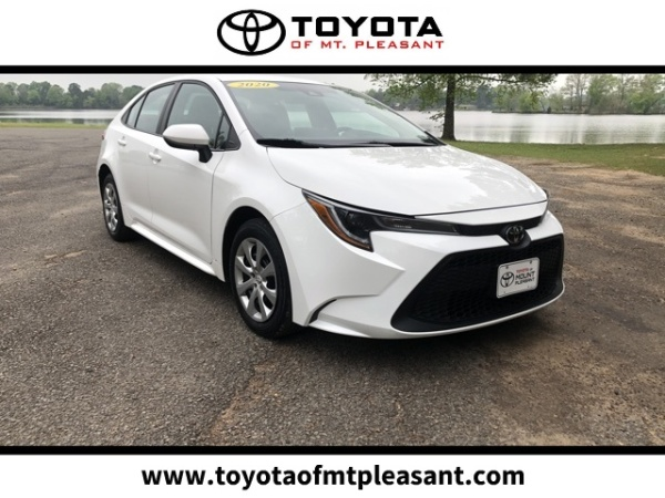 2020 Toyota Corolla in Mt. Pleasant, TX