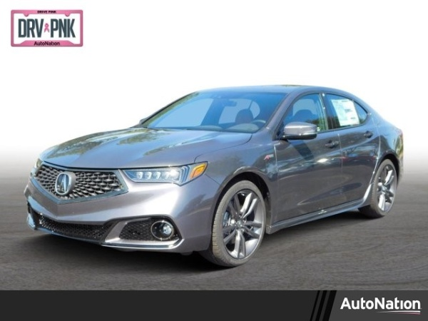 2019 Acura TLX 3.5L FWD with A-Spec Red Package