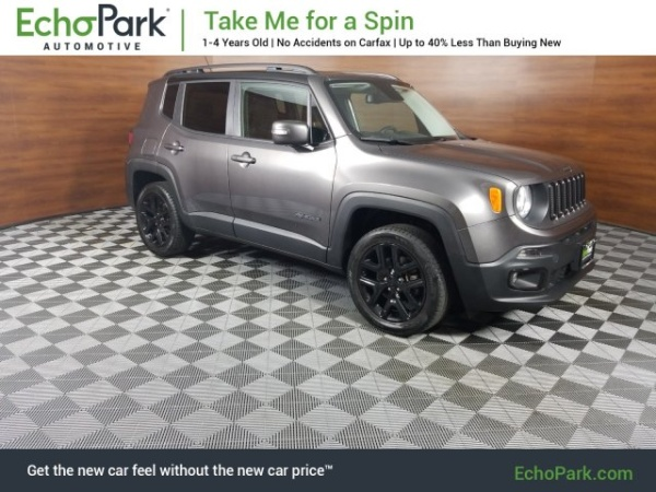 2016 Jeep Renegade Justice