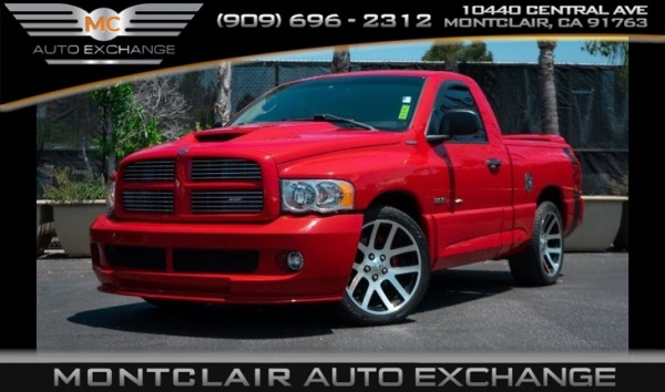 Dodge Ram Srt10 For Sale >> Used Dodge Ram Srt 10 For Sale In Fontana Ca 5 Cars From