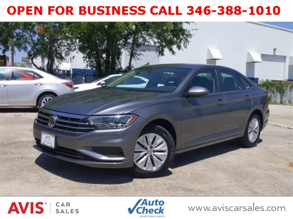 2019 Volkswagen Jetta S Automatic For Sale In Houston, TX