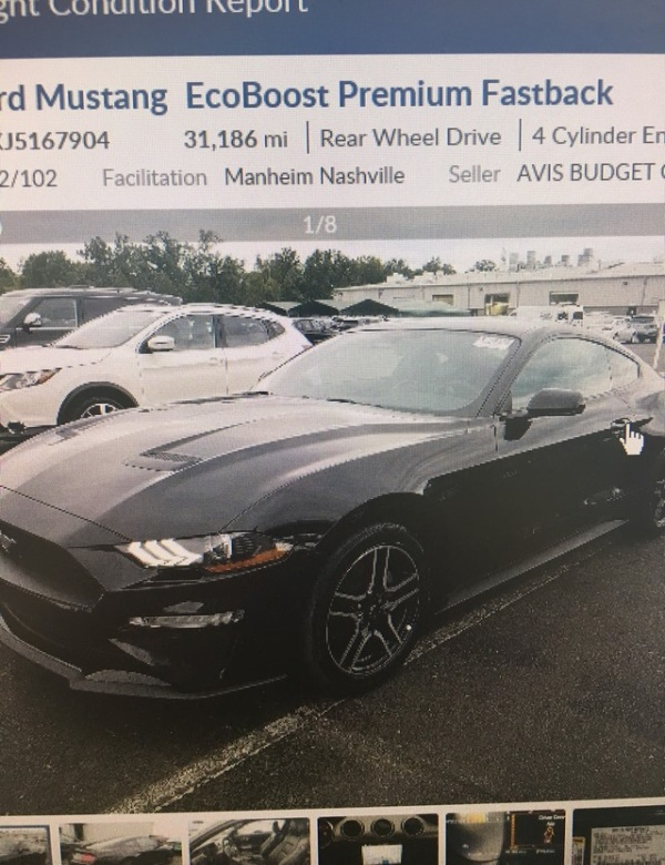 2018 Ford Mustang in Muscle Shoals, AL