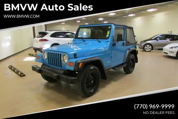 2000 Jeep Wrangler in Union City, GA