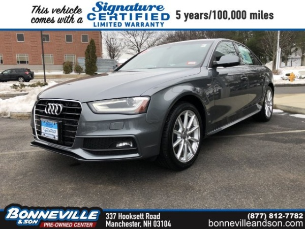 2016 Audi A4 in Manchester, NH