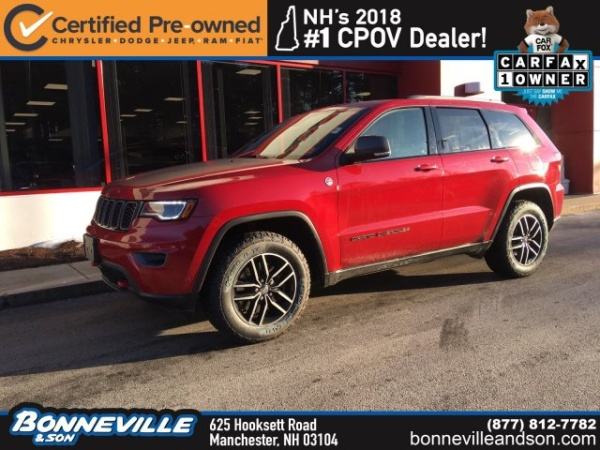 2017 Jeep Grand Cherokee in Manchester, NH