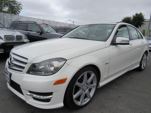 2012 Mercedes Benz C Class C250 Luxury Sedan $12,888 San Mateo, CA