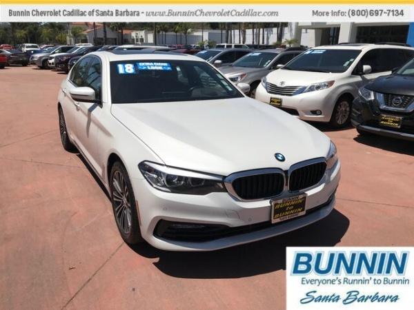 2018 BMW 5 Series in Santa Barbara, CA