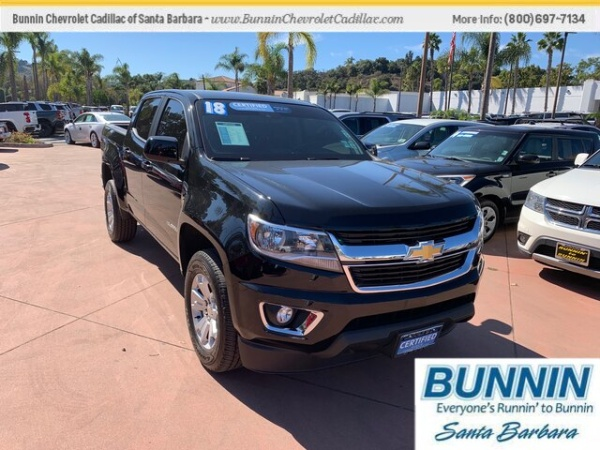 2018 Chevrolet Colorado in Santa Barbara, CA