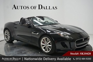 Used 2014 Jaguar F TYPE S Convertible For Sale In Plano, TX