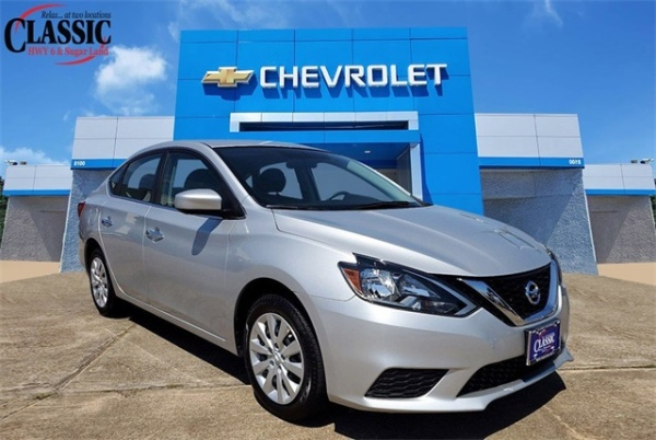 2019 Nissan Sentra in Houston, TX