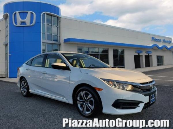Honda Springfield Pa >> 2016 Honda Civic Lx Sedan Cvt For Sale In Springfield Pa