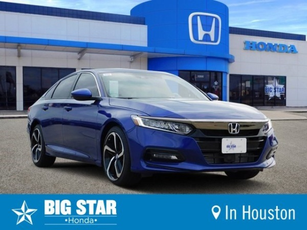 2019 Honda Accord in Houston, TX
