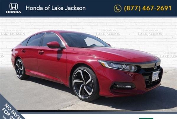 Honda Of Lake Jackson >> 2019 Honda Accord Sport 2 0t Manual For Sale In Lake Jackson Tx