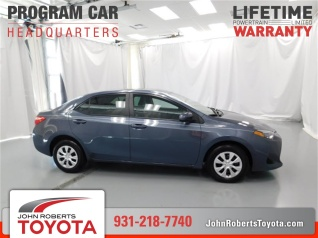 Used 2017 Toyota Corolla L CVT For Sale In Manchester, TN