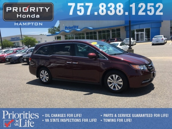 2017 Honda Odyssey in Hampton, VA