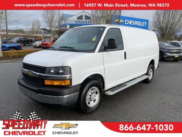2018 Chevrolet Express Cargo Van in Monroe, WA
