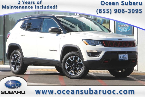 2018 Jeep Compass in Fullerton, CA
