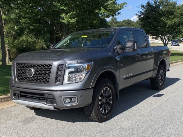 2019 Nissan Titan PRO-4X Crew Cab 4WD For Sale in Griffin
