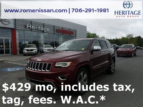 2016 Jeep Grand Cherokee in Rome, GA