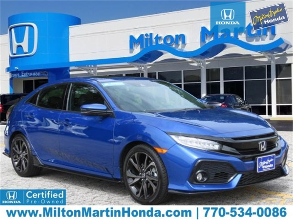 Honda Of Gainesville >> 2018 Honda Civic Sport Touring Hatchback Cvt For Sale In Gainesville
