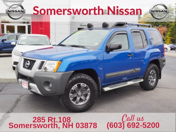 2015 nissan xterra pro 4x 4wd manual for sale in somersworth nh truecar. Black Bedroom Furniture Sets. Home Design Ideas