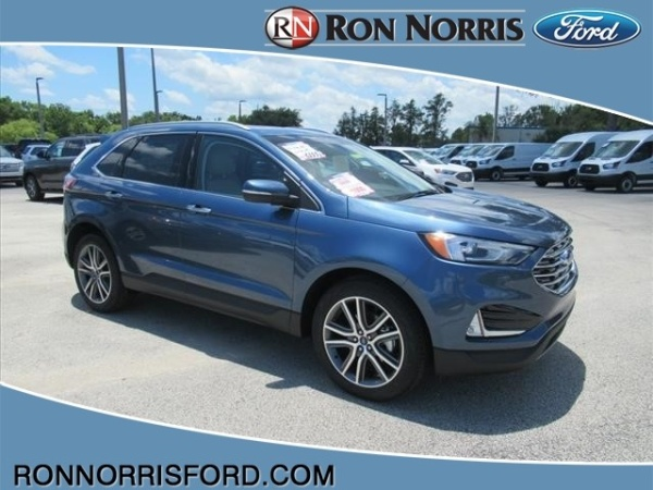 Ron Norris Ford >> 2019 Ford Edge Titanium For Sale In Titusville Fl Truecar