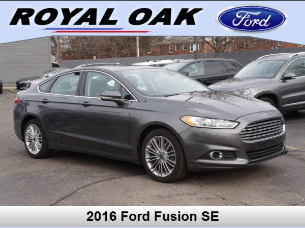 2016 Ford Fusion In Royal Oak Mi