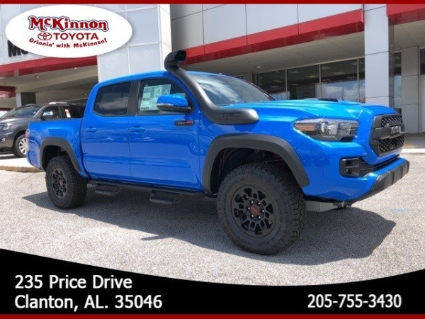 2019 Toyota Tacoma TRD Pro Double Cab 5' Bed V6 4WD