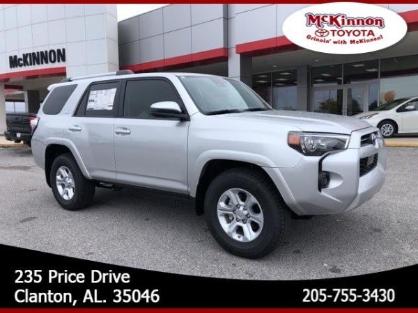 2020 Toyota 4Runner in Clanton, AL