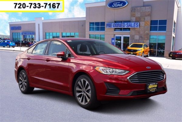 2020 Ford Fusion in Castle Rock, CO