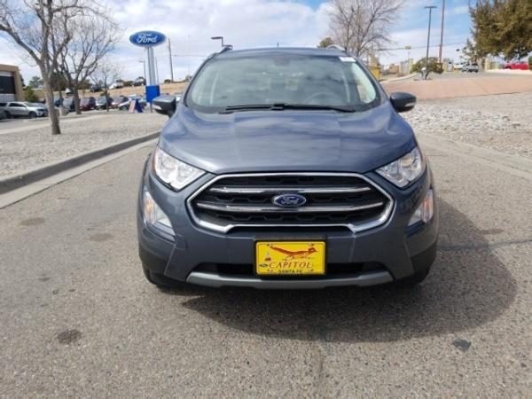 2019 Ford Ecosport Titanium Fwd For Sale In Santa Fe Nm