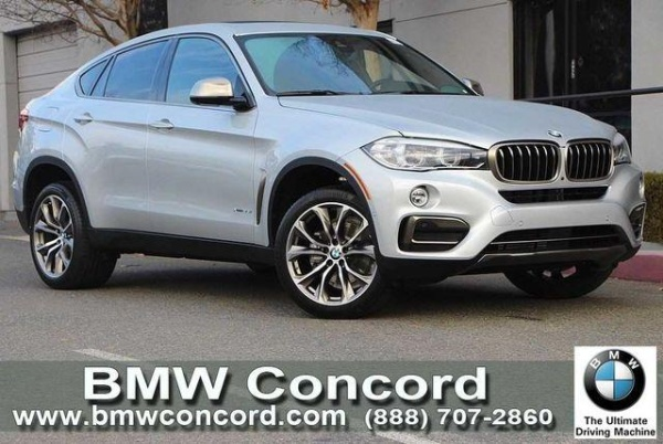 2018 BMW X6 XDrive35i $72,120 MSRP Concord, CA