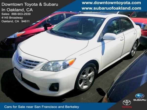 2013 Toyota Corolla LE $9,991 Oakland, CA