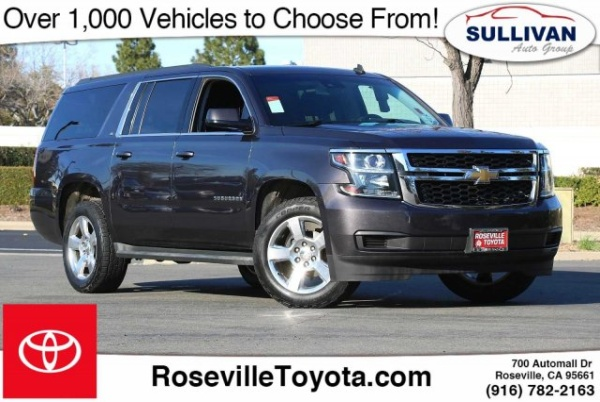 2015 Chevrolet Suburban in Roseville, CA