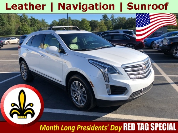 2017 Cadillac XT5 in Mendon, MA