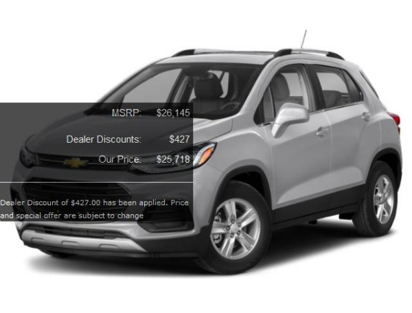 2020 Chevrolet Trax in East Haven, CT