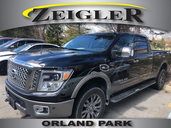 2016 Nissan Titan Xd Platinum Reserve Gas 4wd For Sale In Orland