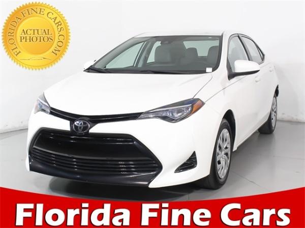 2017 Toyota Corolla In Miami Gardens Fl