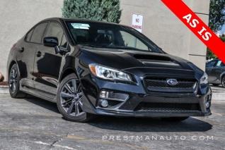 2016 Subaru Wrx Premium Manual For In Salt Lake City Ut