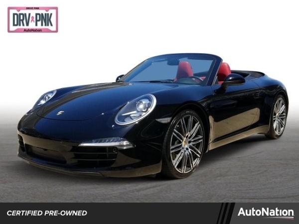 2016 Porsche 911 Carrera S Cabriolet For Sale In Plano Tx Truecar