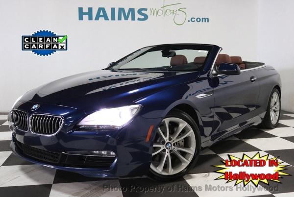 2013 BMW 6 Series in Hollywood, FL