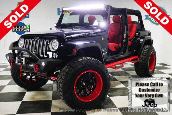 2017 Jeep Wrangler in Hollywood, FL
